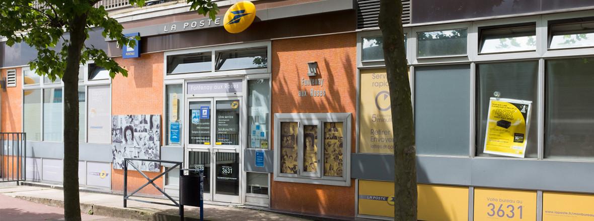 Bureau de poste situé au 93, rue Boucicaut