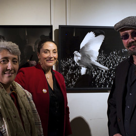 12-Vernissage exposition Le Cri du silence