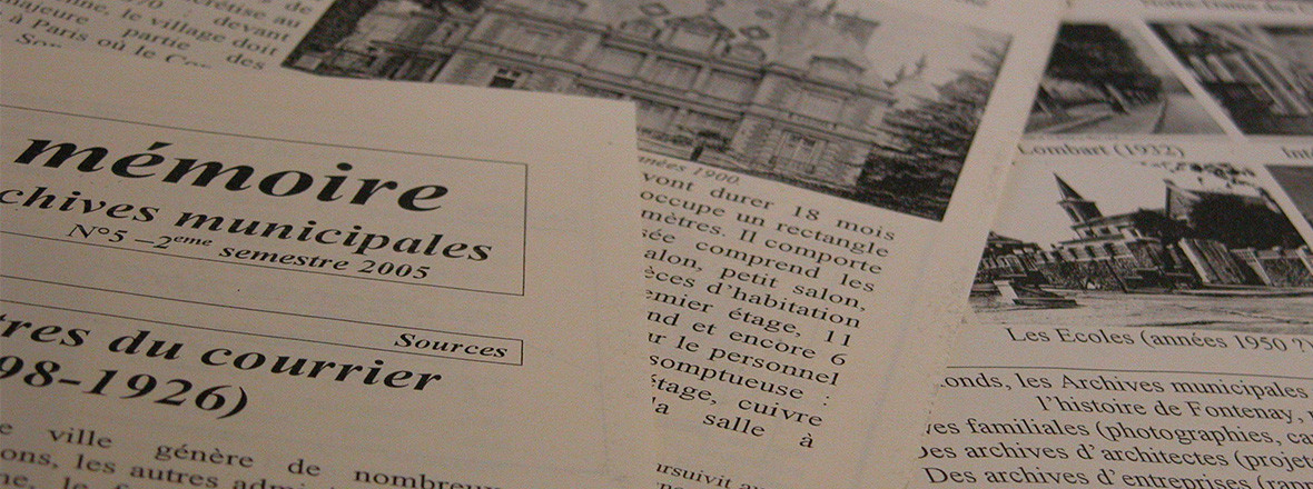 Publications des archives municipales