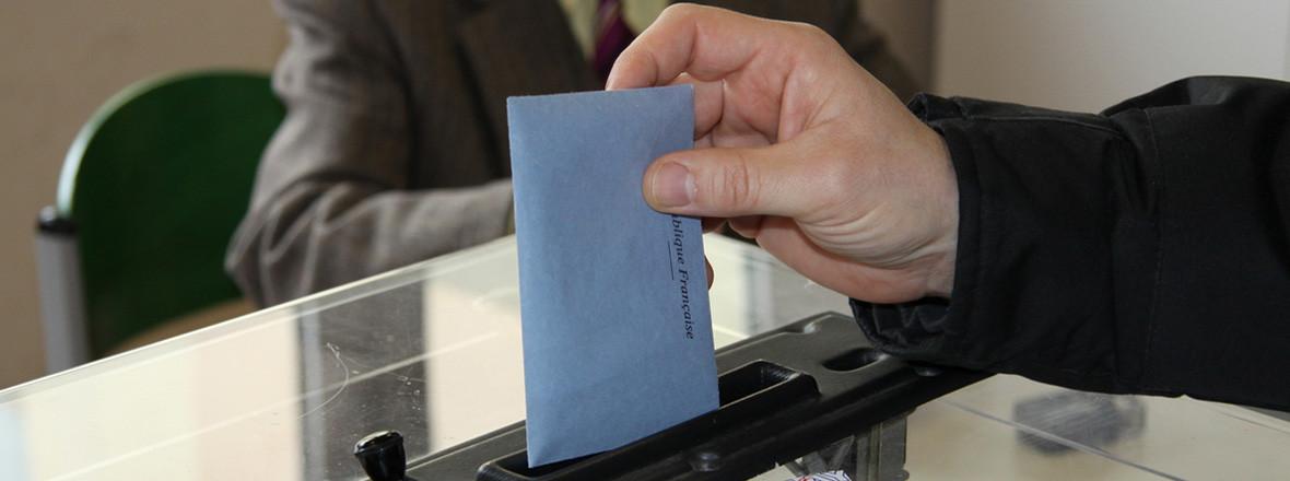 Vote lors d'une élection