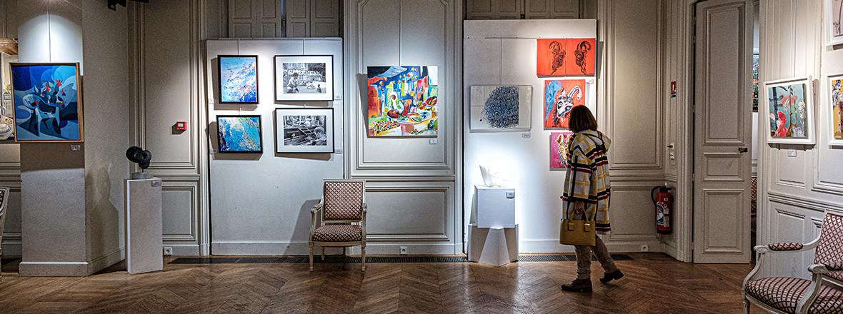 Exposition Art à Fontenay