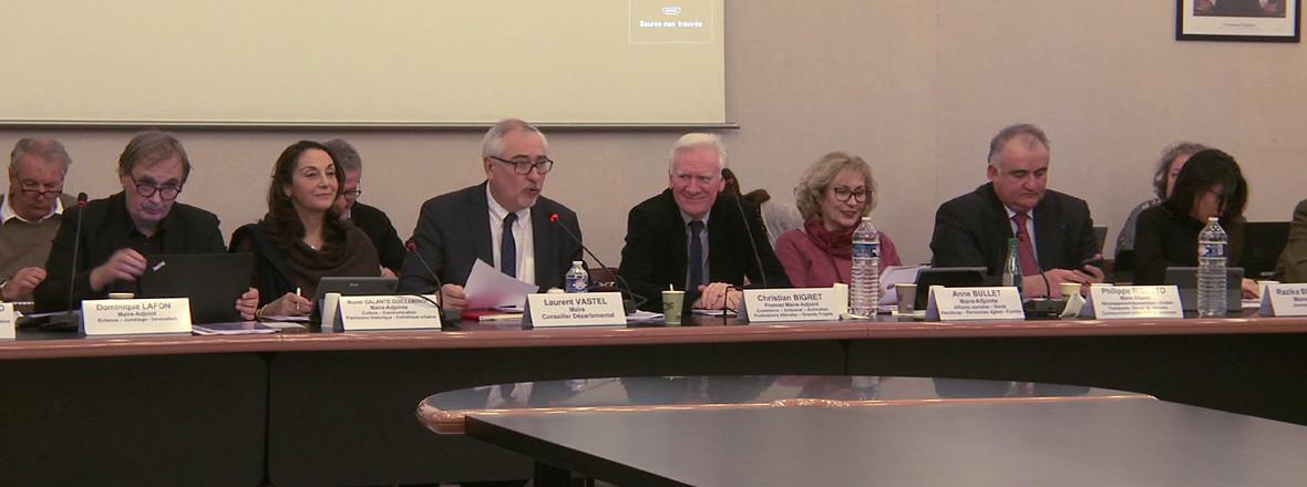 Conseil municipal du 18 février 2019
