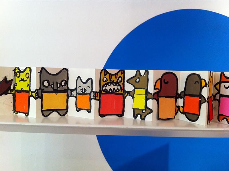 """Exposition """"Ces doudous-là"""" de Malika Doray"""