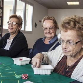Atelier casino pendant la Semaine Bleue