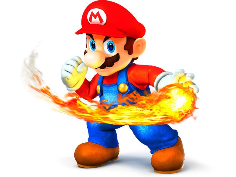 Jeux vidéo avec Mario
