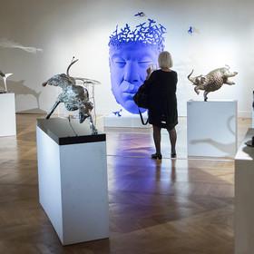 """Vernissage de l'exposition """"Belles bêtes"""" de Thierry Benenati"""