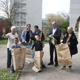 Nettoyage participatif