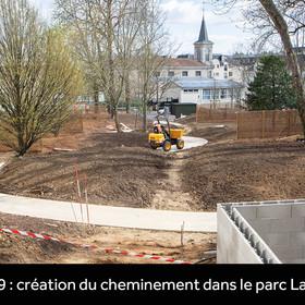 création du parc Laboissière en mars 2019
