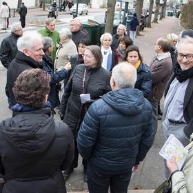 Diagnostic en marchant Parc Centre-ville le 22 février 2017