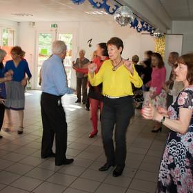 Thé dansant pendant la Semaine Bleue