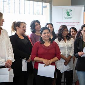 Remise des diplômes 2018 de l'école française des femmes de Fontenay-aux-Roses