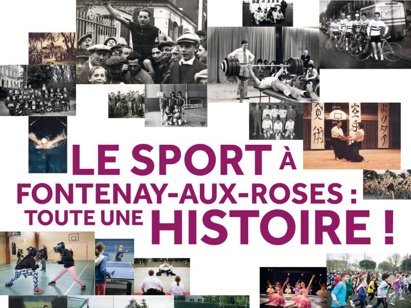 """Exposition """"Le sport à Fontenay-aux-Roses, toute une histoire !"""""""