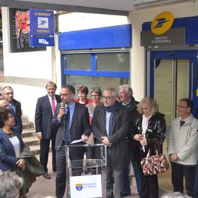 Inauguration de l'agence postale communale