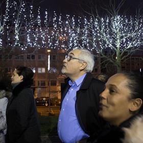 Lancement des illuminations de Noël aux Blagis