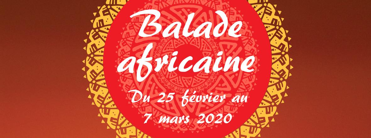 Balade africaine du 25 février au 7 mars 2020