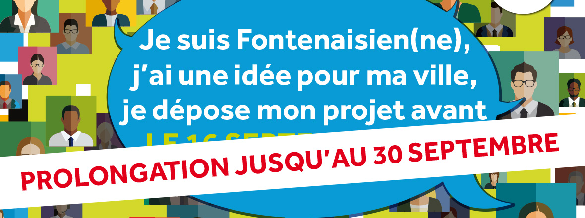 Budget participatif 2018 : prolongation jusqu'au 30 septembre