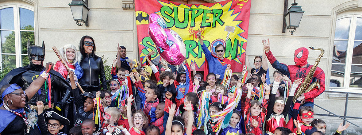 Groupe de super héros