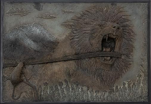 Le lion et le rat - Adomas Samogitas