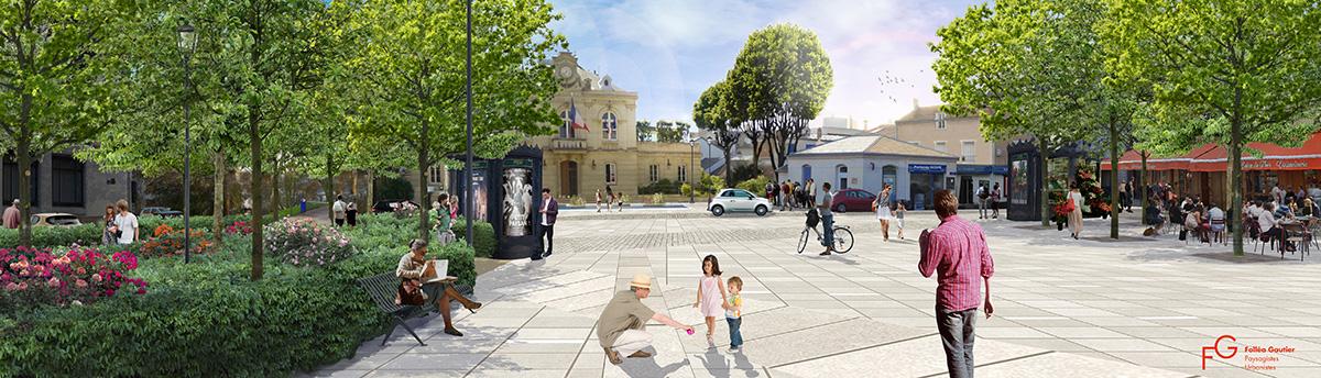 Projet de rénovation de la place du Général de Gaulle