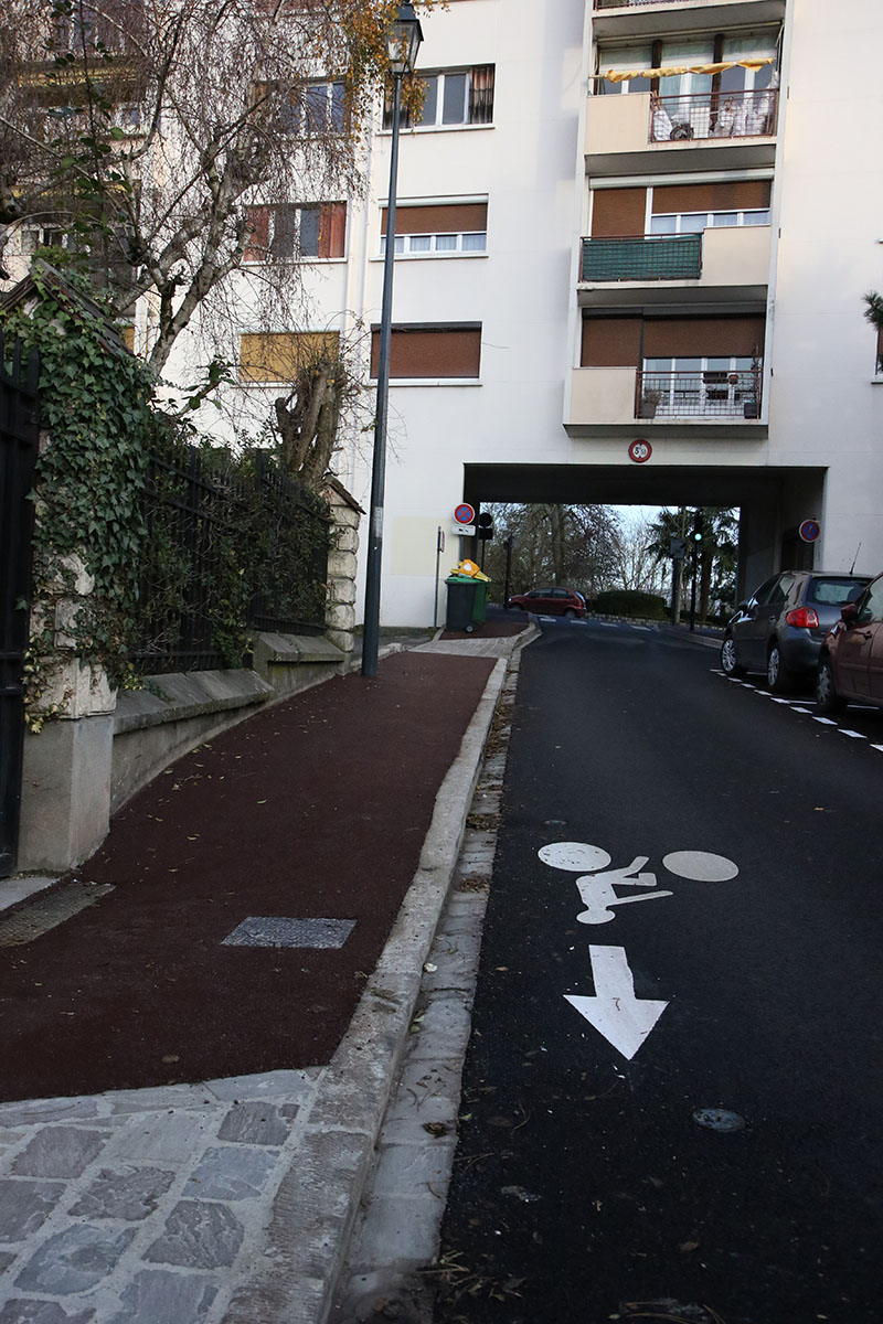 Rue de l'Abbé Turgis en décembre 2019