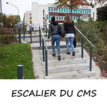 Escalier du CMS